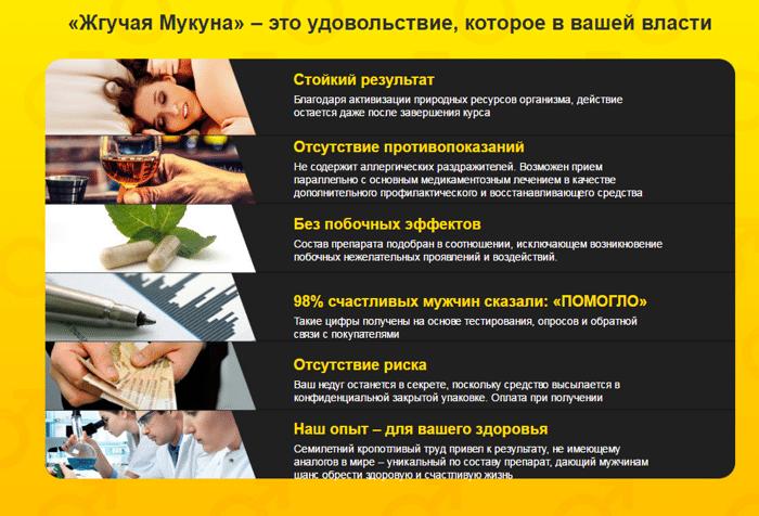Жгучая мукуна сайт украина