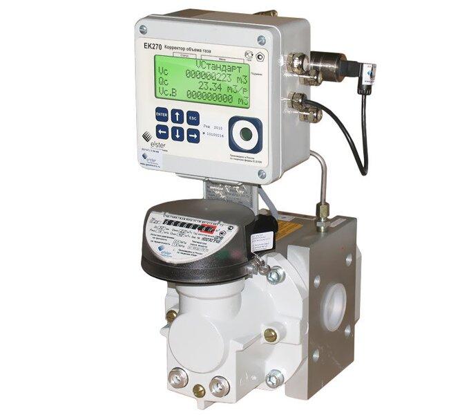 Комплекс для измерения количества газа СГ-ЭК-Р-40/1,6 RVG G25