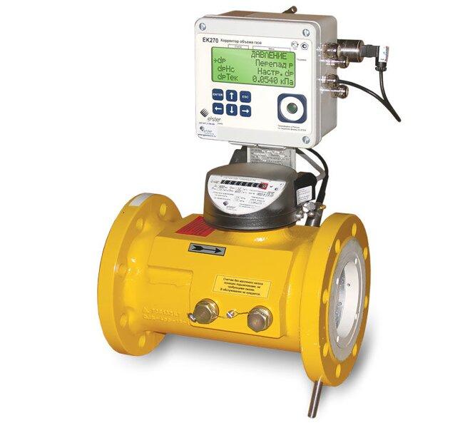 Комплекс для измерения количества газа СГ-ЭК-Т-4000/6.3 Ду=250мм