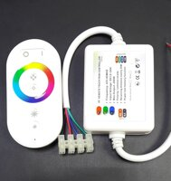 "RGB контроллер RF Wireless Touch LED HT-W 6A*3 12-24V IP65 в Республике Татарстан от компании Общество с ограниченной ответственностью ""Светтехпро"""