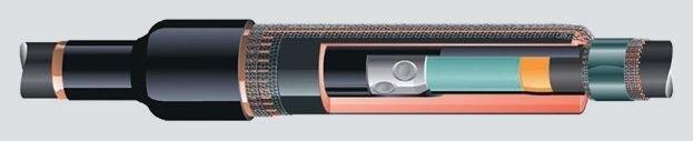 Переходные муфты для кабеля из сшитого полиэтилена