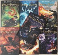 12+ Комплект из 7 книг Harry Potter: The Complete Collection