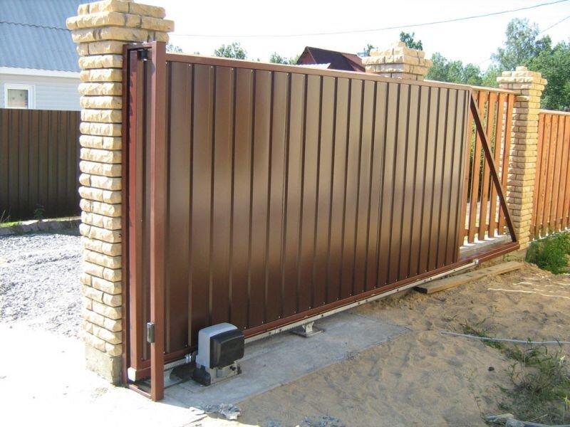 Ворота хабпрочск ворота откатные автоматические схема