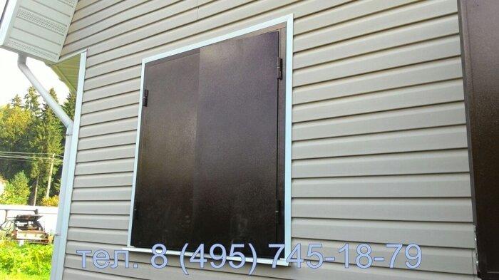 металлические ставни сплошные на окна цена