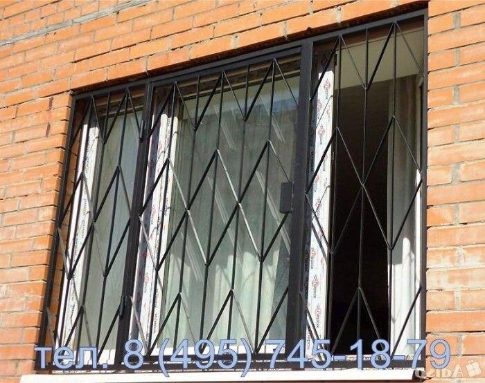 Изготовление решетки на окна видео