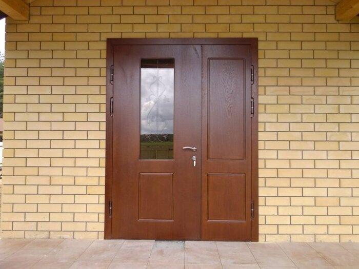 металлические двери со стеклом в химках купить