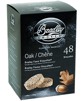Брикеты Bradley Smoker Oak/Дуб (48 шт), Коптильни Bradley Smoker в России., Санкт-Петербург