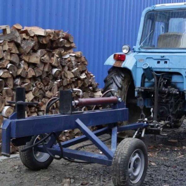 Гидравлический дровокол от трактора своими руками фото