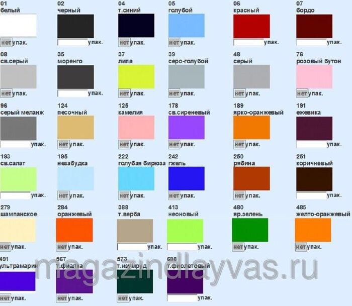 Пехорка бисерная карта цветов фото