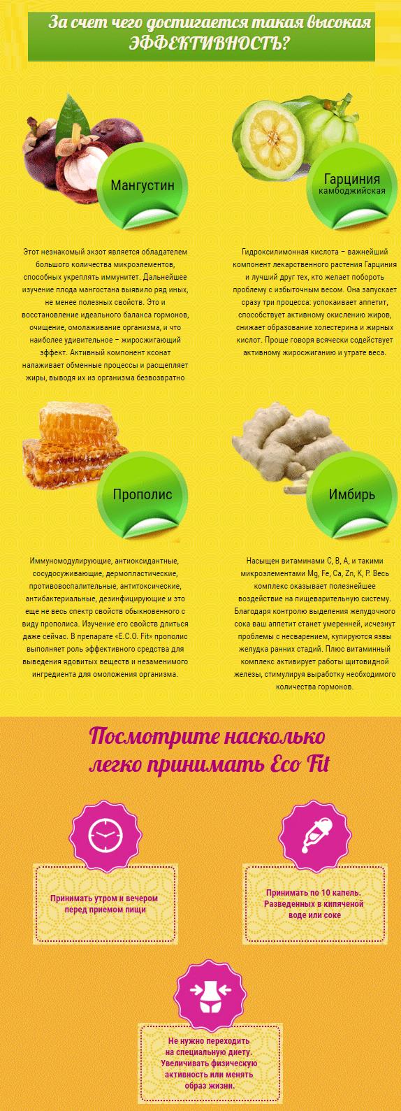 Eco Fit капли для похудения купить