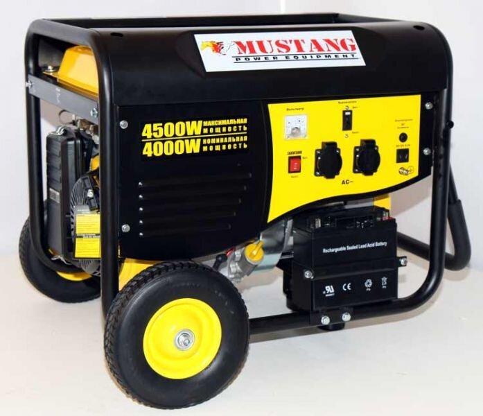 Бензиновый генератор mustang ctg1000 бензиновый
