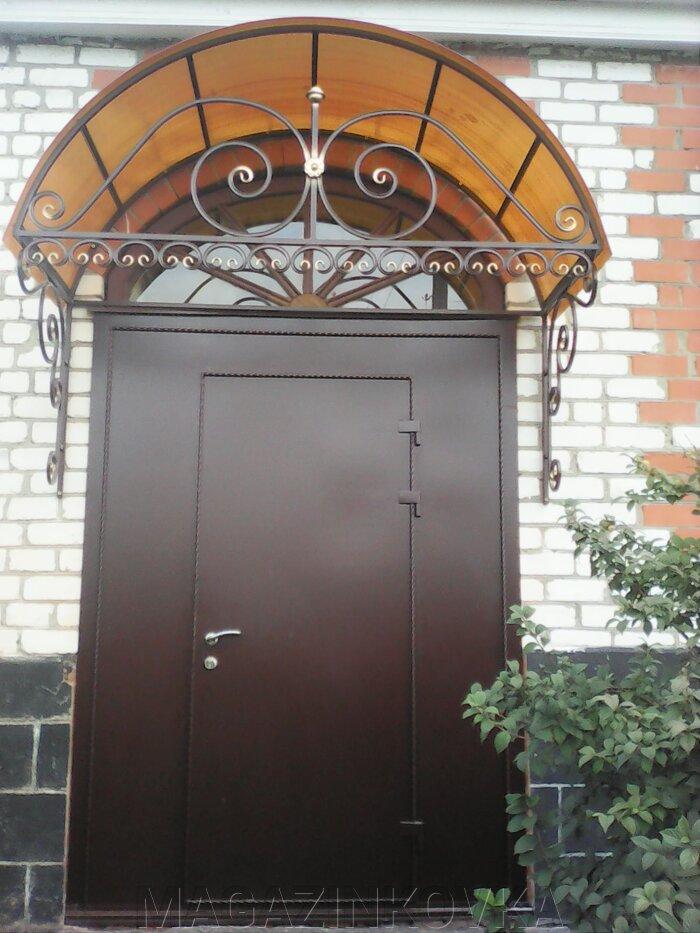 заказать входные двери металлические кованые