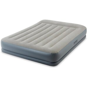 "Кровать-матрас""QUEEN MID-RISE AIRBED WITH FIBER-TECH BIP"", эл/н220V,203х152х30"