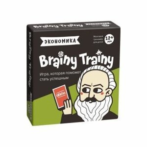 Игра-головоломка Brainy Trainy «Экономика»