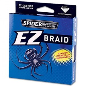 Шнур плетеный Spiderwire EZ Braid 0,12мм 137м зеленая