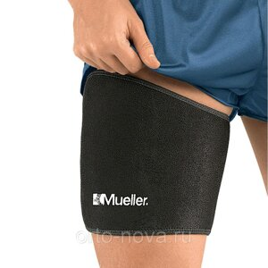 Бандаж на бедро MUELLER 4491 THIGH SUPPORT BLACK