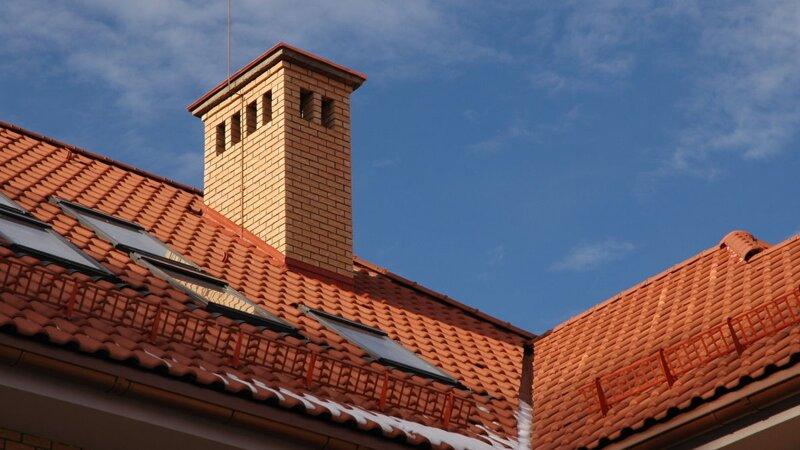 Вентиляция выход на крышу под металлочерепицу