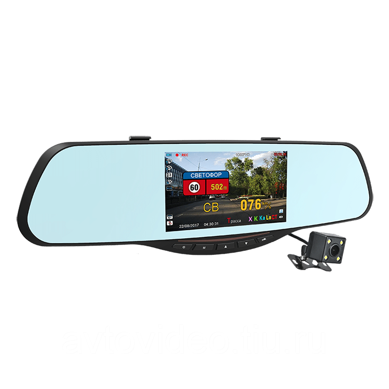 Зеркало регистратор антирадар камера заднего вида отзывы скачать видео с регистратора на телефон