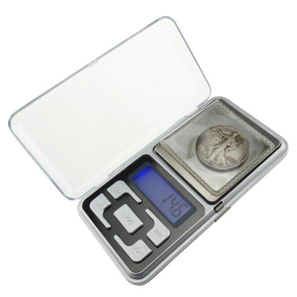 Весы карманные на пальчиковых батарейках