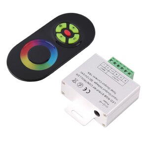 "RGB контроллер RF Wireless Touch LED HT-B 6A*3 12-24V в Республике Татарстан от компании Общество с ограниченной ответственностью ""Светтехпро"""