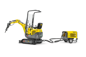 Мини экскаватор Wacker Neuson 803 dual power