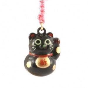 "Брелок ""Lucky Cat Black"""