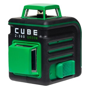"ADA CUBE 2-360 Green ULTIMATE EDITION лазерный уровень (нивелир) в Москве от компании ООО ""КИП-ПРОФИТ"""