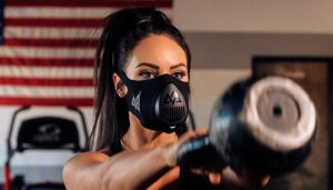 "Sports Training Mask 3.0, маска для бега, кроссфита, mma, размер S до 70 кг в Республике Марий Эл от компании Интернет-магазин ""Спорттовары24"""