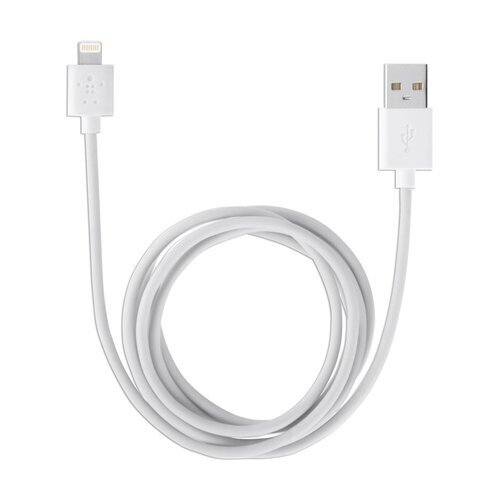 "Кабель USB 2.0-apple lightning 3 м belkin, для подключения iphone (ipad), черный, F8j023bt3M-WHT - Интернет-магазин  ""Компания АЛТИС-Пермь"""