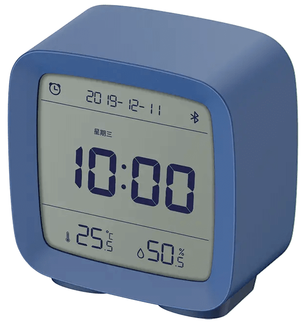 Часы-метеостанция Xiaomi Bluetooth Alarm Clock CGD1 Blue ##от компании## CARCAM - ##фото## 1