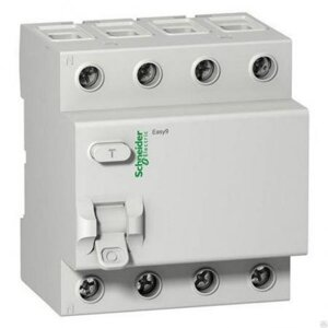 УЗО 4Р 63А 30мА EASY9 Schneider Electric