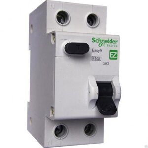 УЗО 2Р 63А 30мА EASY9 Schneider Electric