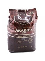 Paulig Arabica Dark кофе Паулиг Дарк в зернах 1000 г