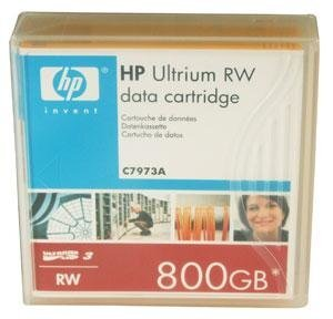 HP Ultrium LTO3 800GB bar code labeled Cartridge [C7973A]