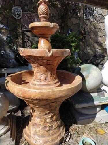 Купить фонтан для дачи недорого из бетона коронка по бетону 150 купить