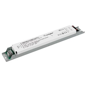Блок питания ARV-24060-long-PFC-1-10V-A (24V, 2.5A, 60W), arlight, 025478