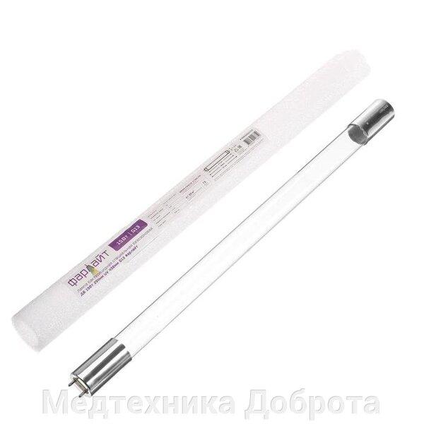 Лампа бактерицидная специальная безозоновая ДБ 15Вт 254нм UV 438мм G13 Фарлайт купить в Симферополе. Сравнить Лампа бактерицидная специальная безозоновая ДБ 15Вт 254нм UV 438мм G13 Фарлайт (607876948) цену: 690 руб с другими недорогими товарами, отзывы, доставка.