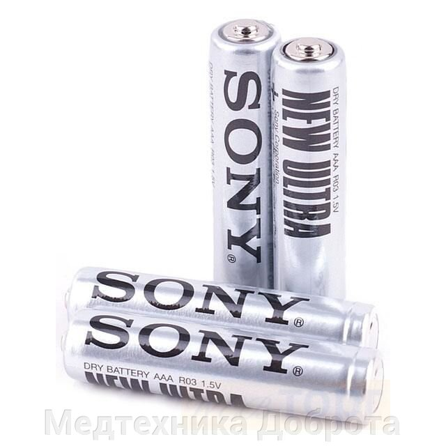 Солевая батарейка Sony New Ultra, ААА, R03 ##от компании## Медтехника Доброта - ##фото## 1