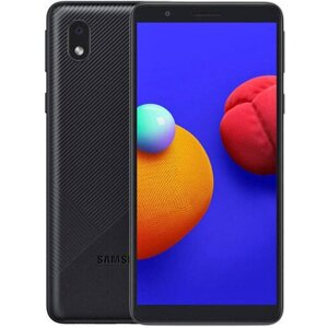 Смартфон Samsung Galaxy A01 Core 1/16GB Black